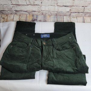 NWOT Old Navy Rockstar Cordurory Mid Rise Green